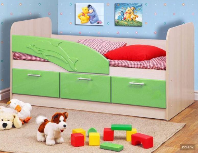 Кровать одинарная Дельфин - Студия мебели Maximum