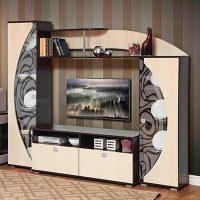 Гостиная Олимп м08 темный - Студия мебели Maximum